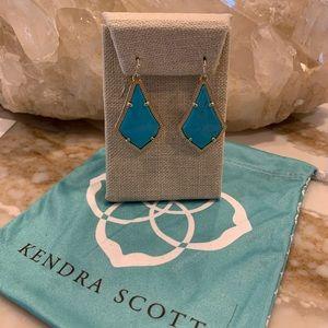 Kendra Scott torquoise earrings ! Great color🤗💖